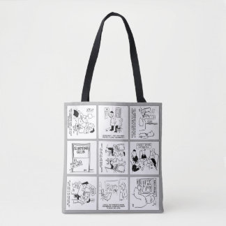 Funny Gags Collection Design Tote Bag