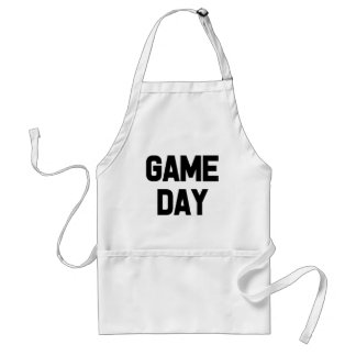 Funny Game Day Apron