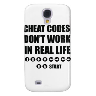 Funny Gamer designs Galaxy S4 Cases