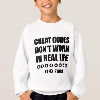 Funny Gamer designs Sweatshirt