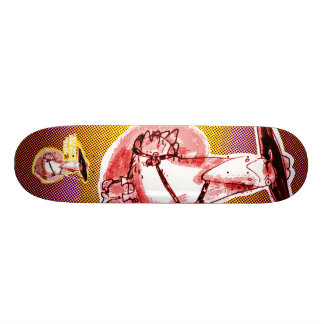funny gangster duck cartoon 18.4 cm mini skateboard deck