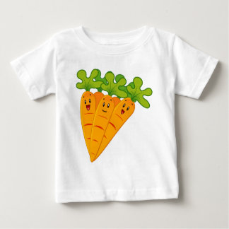 Funny garden carrots baby T-Shirt