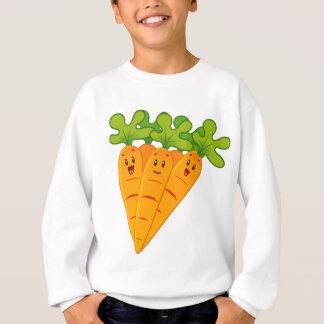 Funny garden carrots sweatshirt