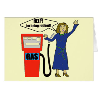 Funny Gas Prices T-shirts Gifts Card