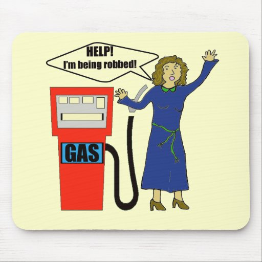 Funny Gas Prices T-shirts Gifts Mouse Mats