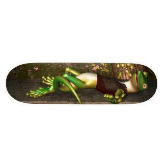 Funny gecko skate decks