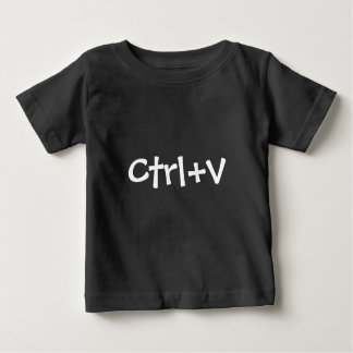 Funny Geek Shirt 2 of 2 for Twins Ctrl+V