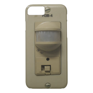 Funny Geeky Electrical Switch Timer Light iPhone 7 Case