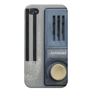Funny Geeky Intercom Cover For iPhone 4