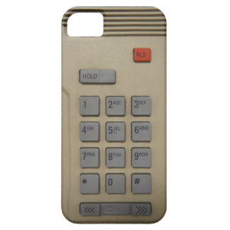 Funny Geeky Retro Telephone Intercom Keypad Barely There iPhone 5 Case