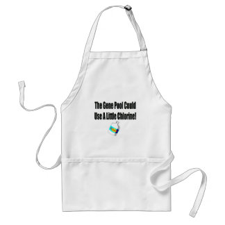 Funny Gene Pool T-shirts Gifts Standard Apron
