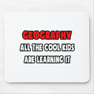 Funny Geography Teacher Shirts and Gifts Mouse Pad