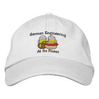 Funny German Drinking Embroidered Cap Baseball Cap