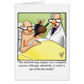 """Funny Get Well Greeting Card """"Spectickles"""""""