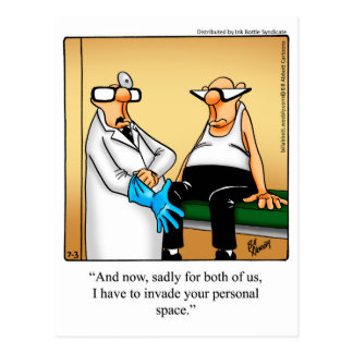 Funny Get Well Postcard
