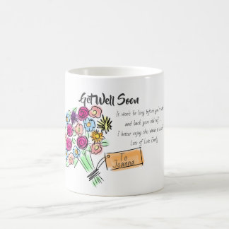 Funny Get Well Soon Jokes - Personalized Coffee Mug