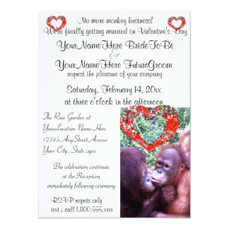 Funny Getting Married At Last Personalized Announcements