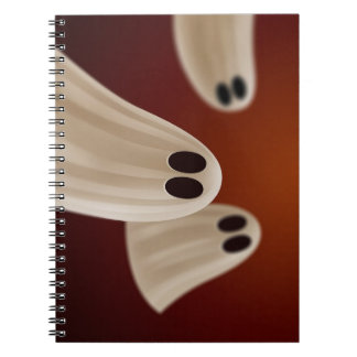 FUNNY GHOSTS NOTEBOOK