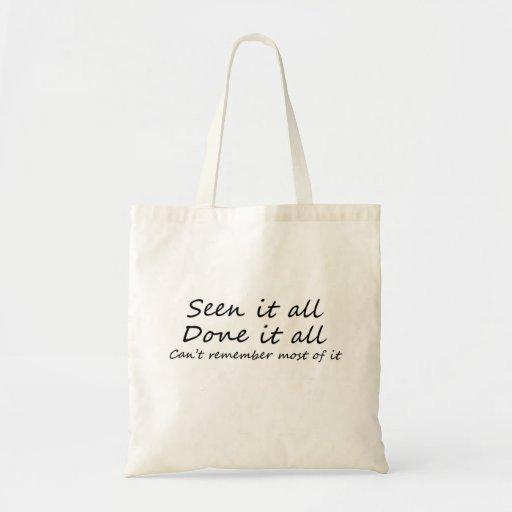 Funny gift ideas canvas bag unique bulk discount