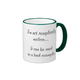 Funny gift ideas coffee cups unique retail items ringer mug