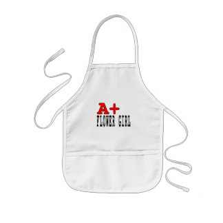 Funny Gifts for Flower Girls A+ Flower Girl Aprons