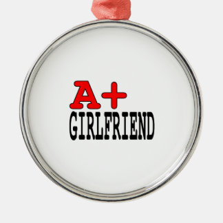 Funny Gifts for Girlfriends A+ Girlfriend Christmas Ornaments