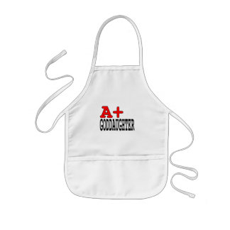 Funny Gifts for Goddaughters : A+ Goddaughter Kids Apron