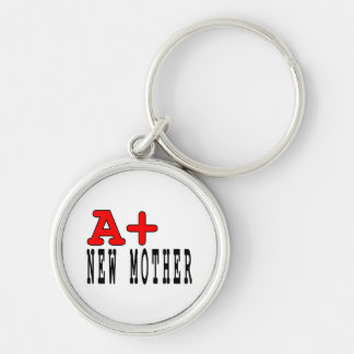 Funny Gifts for New Moms : A+ New Mother Keychains