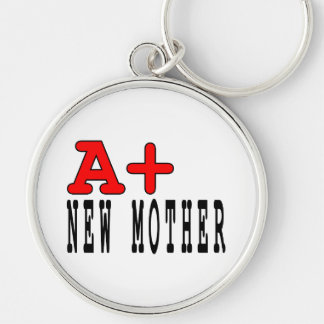 Funny Gifts for New Moms A+ New Mother Keychains