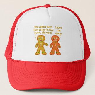 Funny Gingerbread Fake Tan Christmas Trucker Hat