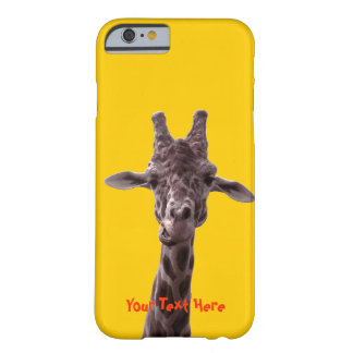 Funny Giraffe Barely There iPhone 6 Case