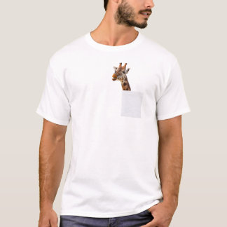 Funny Giraffe in My Pocket T-shirt