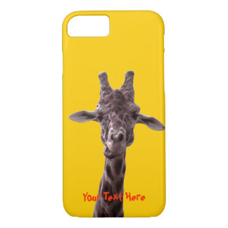 Funny Giraffe iPhone 7 Case