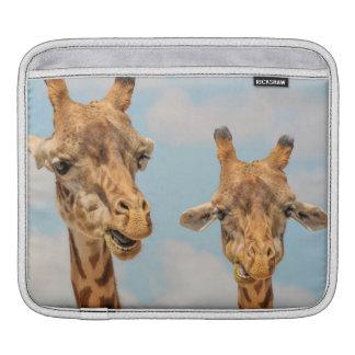 Funny Giraffes iPad Sleeves