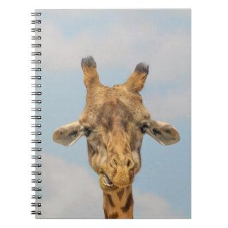 Funny Giraffes Spiral Note Books