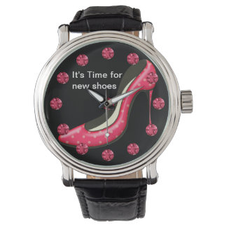 Funny Girly Bling Wristwatch