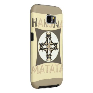 Funny Girly Hakuna Matata Samsung Galaxy S6 Cases