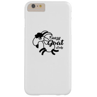 Funny Goat  - Crazy Goat Lady Barely There iPhone 6 Plus Case