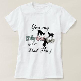 FUNNY GOAT | Crazy Goat Lady Southwest Colors T-Shirt