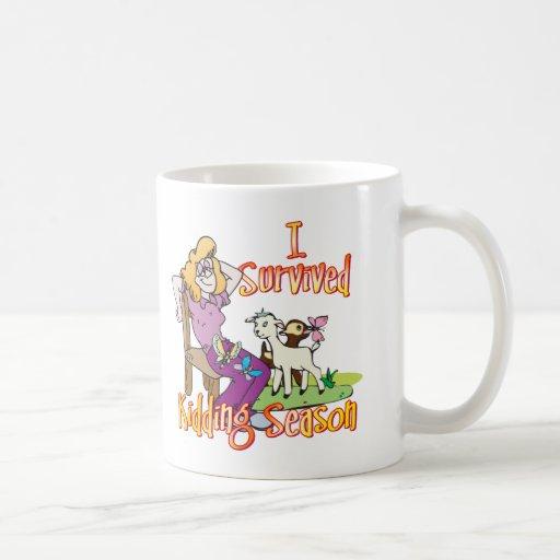 Funny Goat Kidding Season Goat Gifts Mug