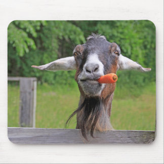 Funny Goat Mouse Pad