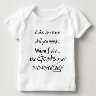 37612504 Funny Goat Sayings Baby Tops & T-Shirts | Zazzle.com.au