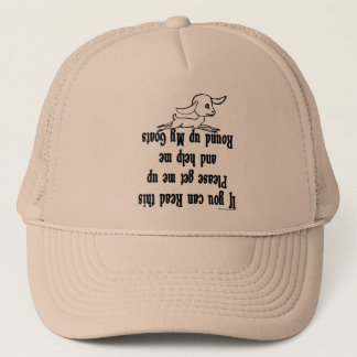 Funny Goat Sayings Trucker Hat