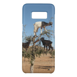 Funny goats in a tree Case-Mate samsung galaxy s8 case