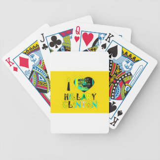 Funny Golden lovey Amazing Hope Hillary for USA Co Bicycle Playing Cards