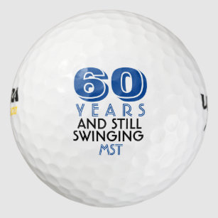 Funny Golf Balls 60th Birthday Party Monogrammed  sc 1 st  Zazzle & Golfer Birthday Gifts on Zazzle AU