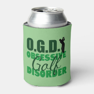 Funny Golf Can Cooler