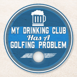 Funny Golf Coaster