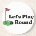 Funny Golf Coasters