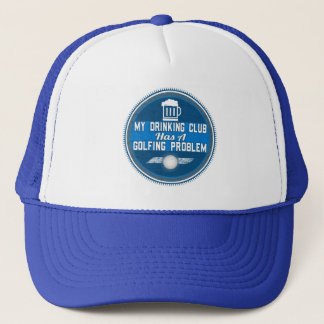 Funny Golf Hat - Drinking and Golfing